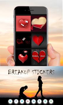 Breakup Stickers screenshot 2
