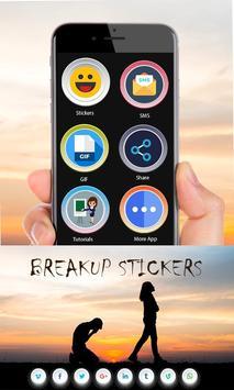Breakup Stickers screenshot 7