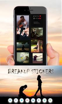 Breakup Stickers screenshot 4