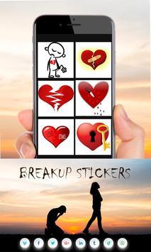 Breakup Stickers screenshot 5