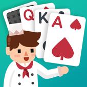 卡牌烹饪塔 - 顶级纸牌游戏 图标
