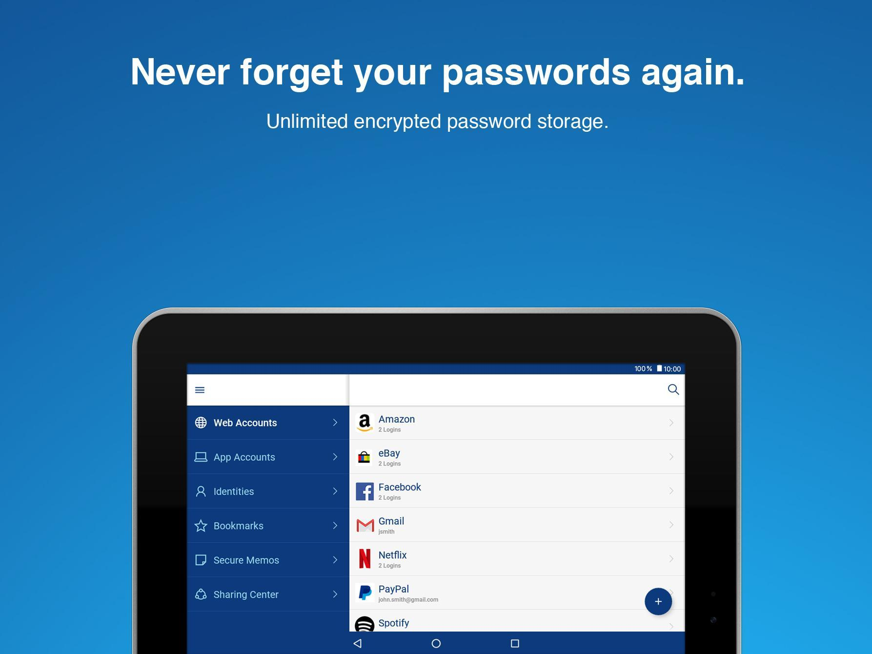 Sticky Password for Android - APK Download