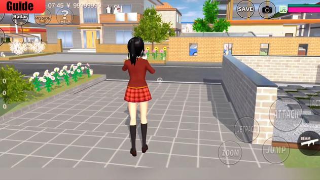 Walkthrough for SAKURA school simulator Guide 2020 screenshot 5