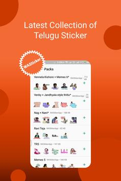 Telugu Sticker For Whatsapp's - stickyfy poster