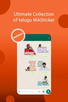 Telugu Sticker For Whatsapp's - stickyfy screenshot 2