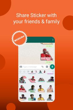 Telugu Sticker For Whatsapp's - stickyfy screenshot 3