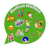 Festival Whatsap Sticker for all festival icon