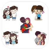 Love Stickers For Whatsapp - Valentine Special icon