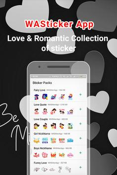 Love Stickers For Whatsapp - Valentine Special screenshot 5