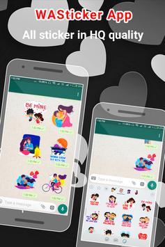 Love Stickers For Whatsapp - Valentine Special screenshot 7