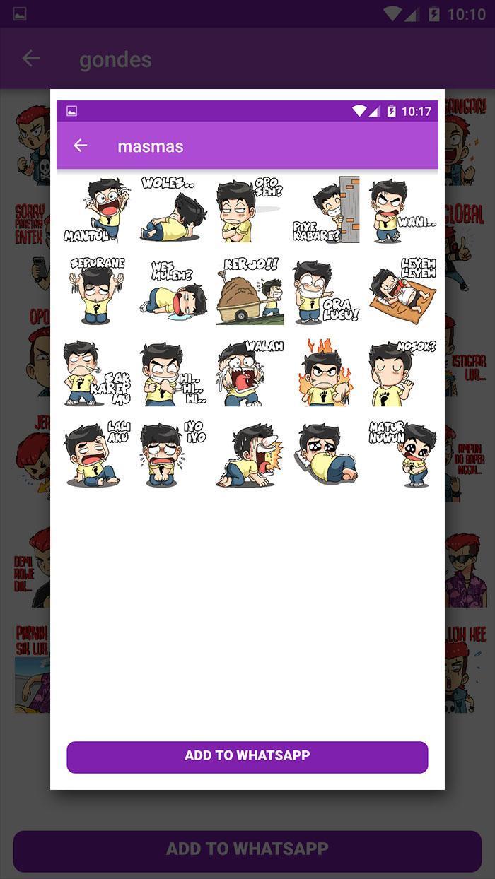 Stiker Wa Jawa Lucu Jowo For Whatsapp Stickerapps For