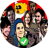 Stickers Youtubers para WhatsApp icon