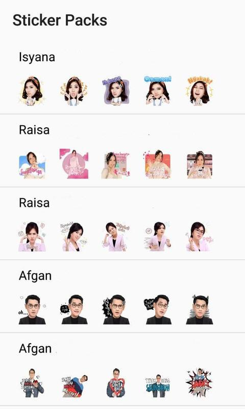 Stiker Wa Artis Indonesia For Android Apk Download