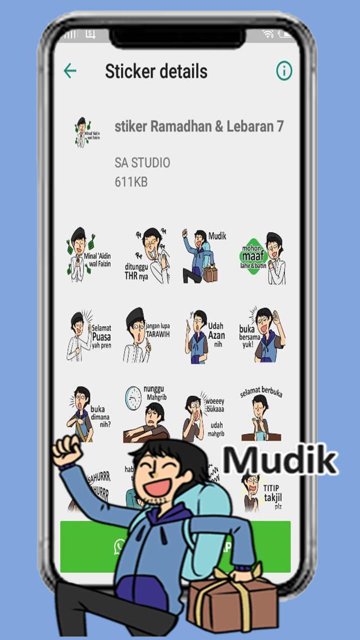 Stiker Wa Ramadhan Lebaran For Android Apk Download