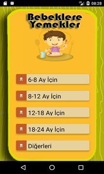 Bebekler İçin Yemek Tarifleri screenshot 10