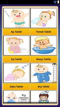 Bebek Takibi Bakımı Gelişimi screenshot 2