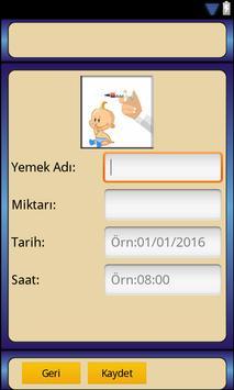 Bebek Takibi Bakımı Gelişimi screenshot 6