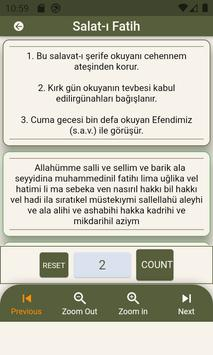 Peygamber Efendimize Salavat Selam  Dua Zikirmatik imagem de tela 14
