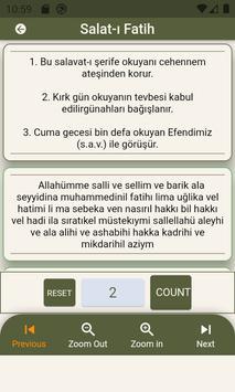 Peygamber Efendimize Salavat Selam  Dua Zikirmatik imagem de tela 2