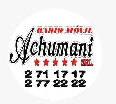 Radio móvil Achumani poster