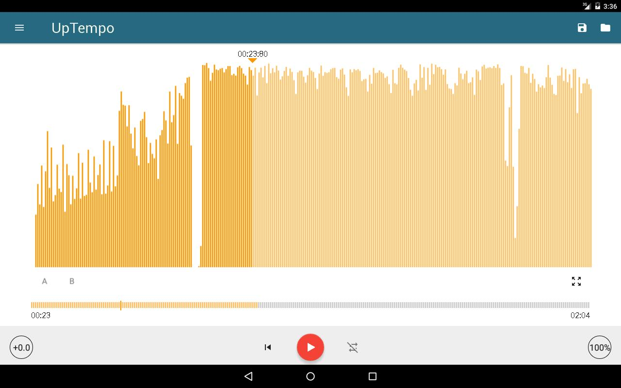 Music Editor Pitch and Speed Changer : Up Tempo for Android - APK