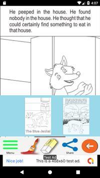 The Blue Jackal - Kids Story screenshot 5