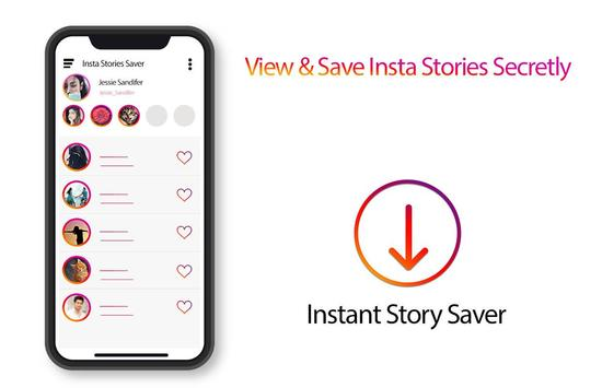 View & Save Instant Stories Secretly poster
