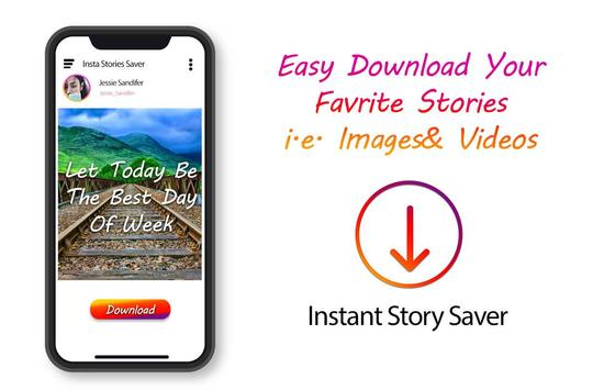 View & Save Instant Stories Secretly screenshot 1