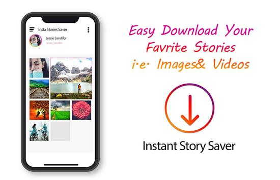 View & Save Instant Stories Secretly screenshot 2