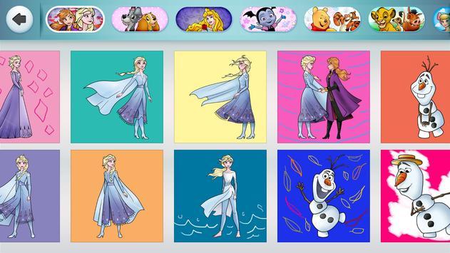 Disney Coloring World screenshot 5