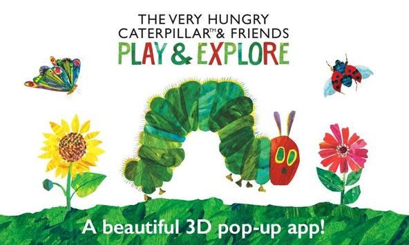 Poster The Very Hungry Caterpillar - Play & Explore