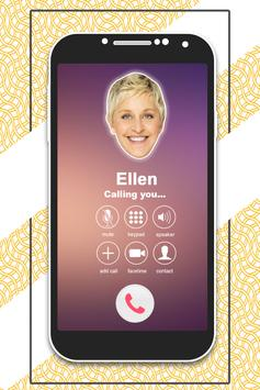 Call From Ellen Prank screenshot 3