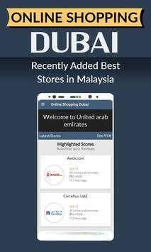 Online Shopping Dubai poster