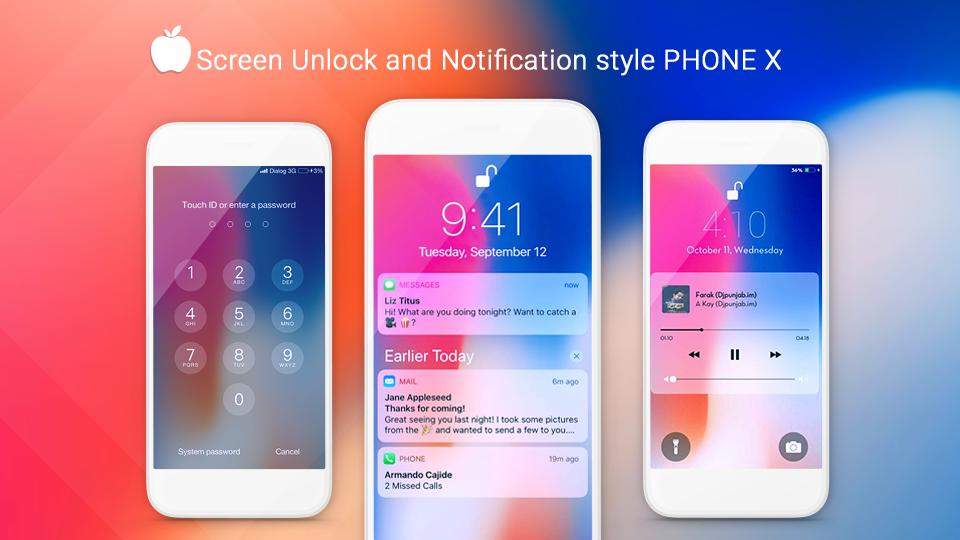iLauncher OS 12 - Phone X for Android - APK Download