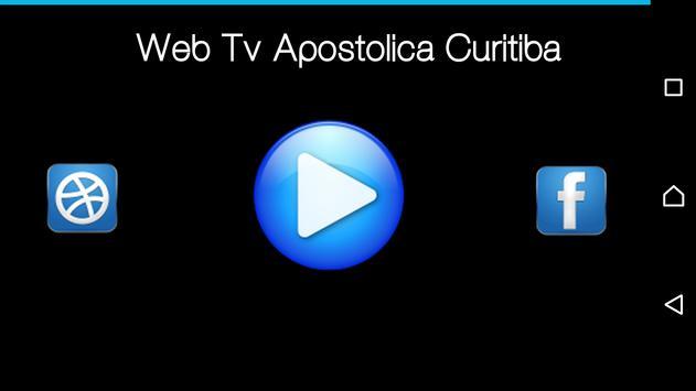 Web Tv apóstolica Curitiba screenshot 1