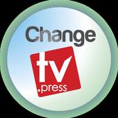 Change TV. Press icon