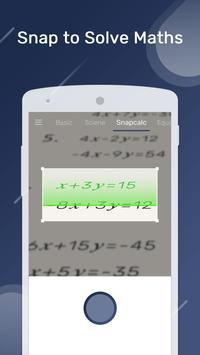 智能計算器 - 拍照解決數學題 截圖 1