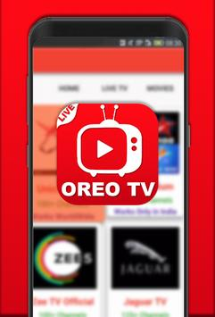 All Oreo Tv : Indian Live Movies & Cricket Tips poster