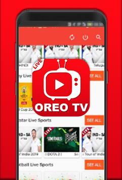 All Oreo Tv : Indian Live Movies & Cricket Tips screenshot 5