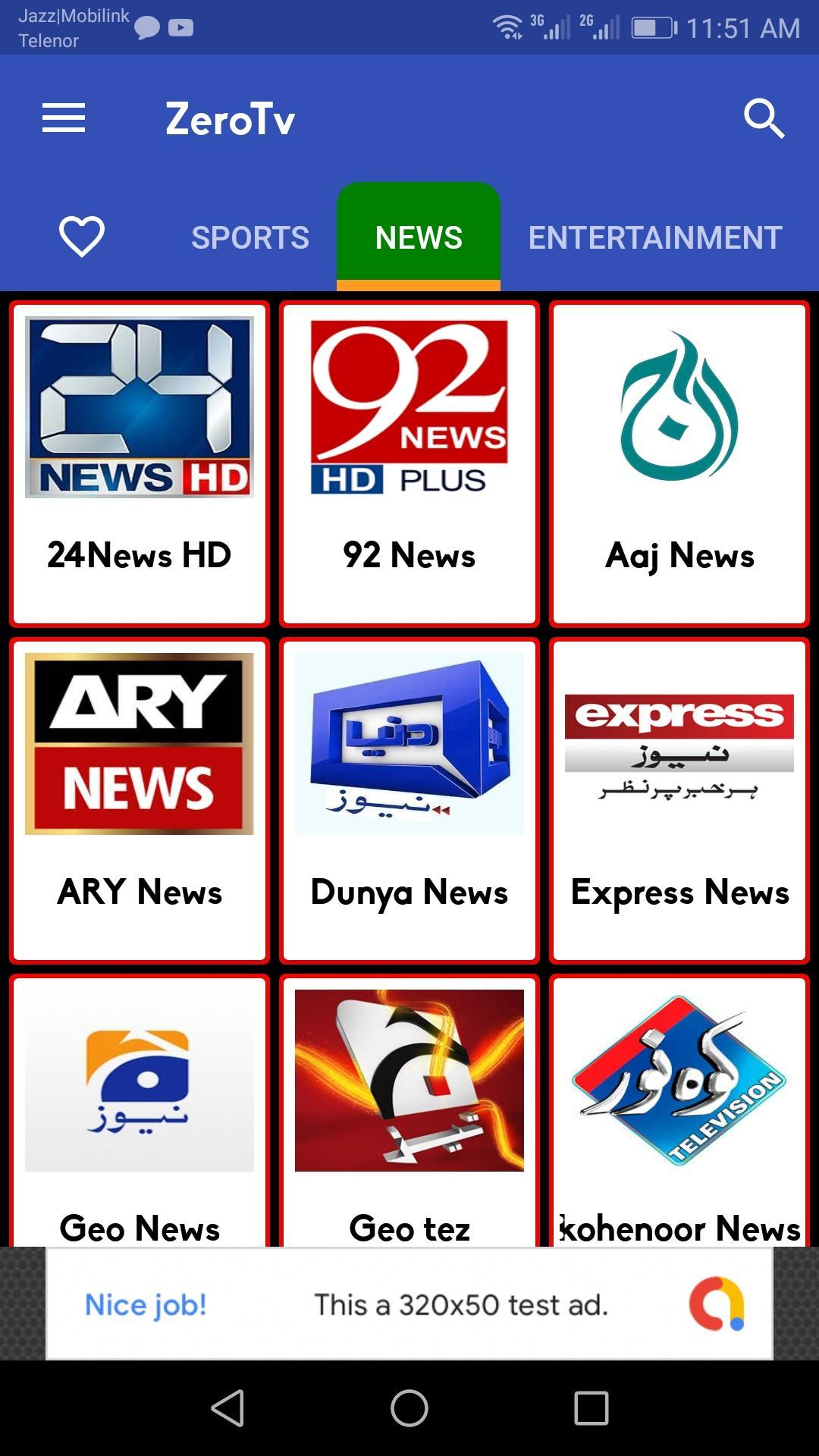 Zero TV Watch All Tv Channals Live for Android - APK Download