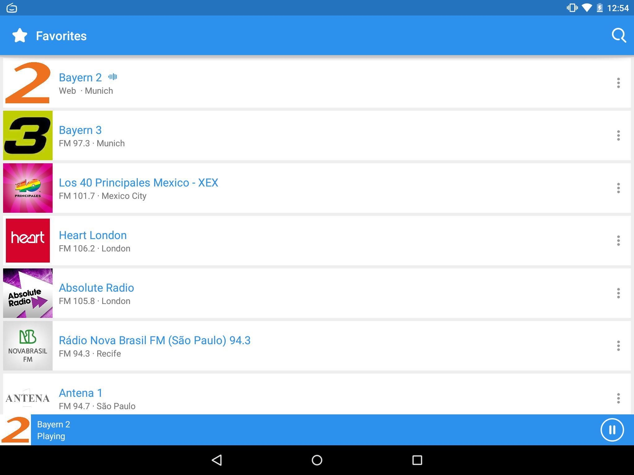 Simple Radio für Android - APK herunterladen