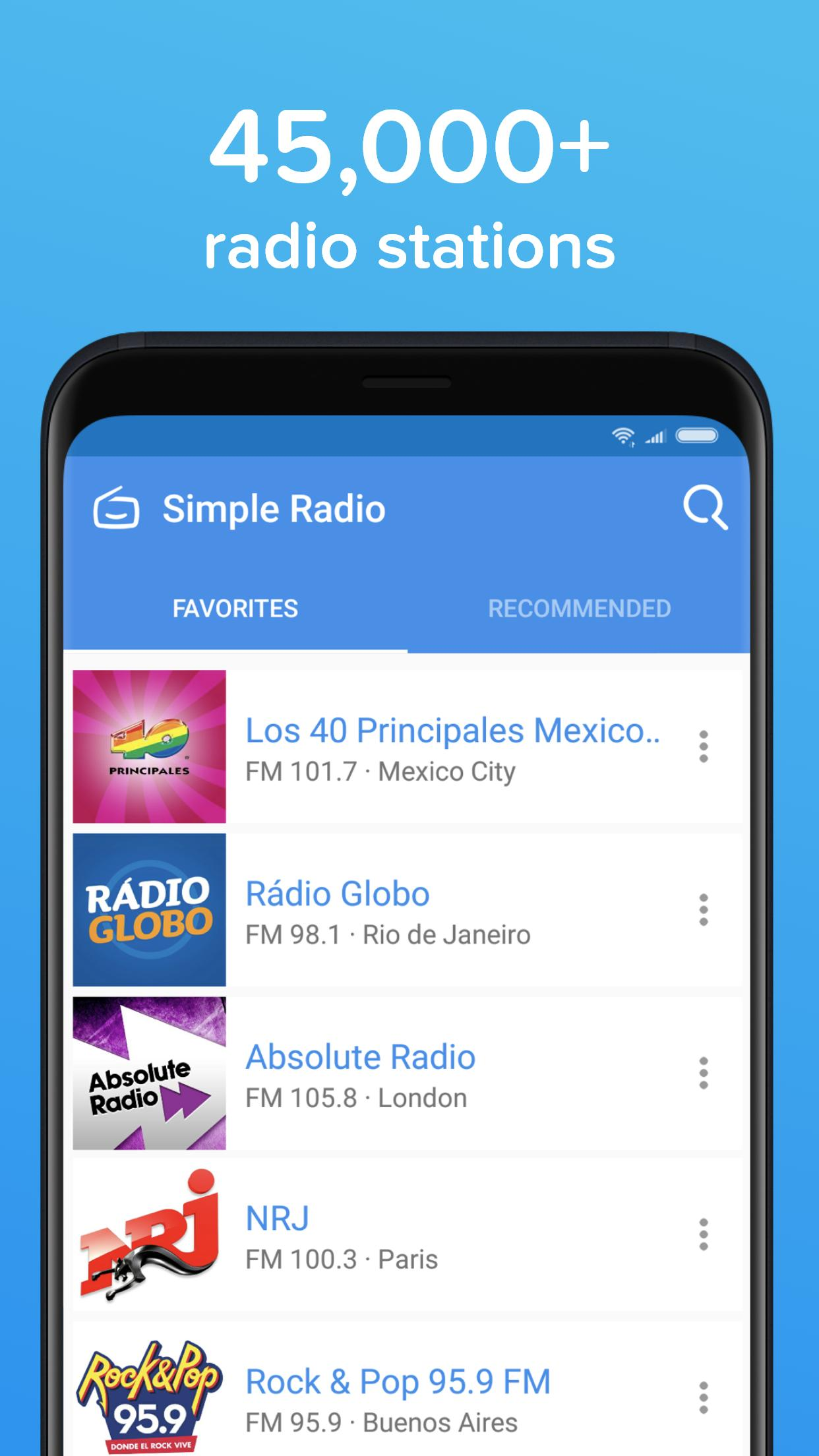 Simple Radio for Android - APK Download
