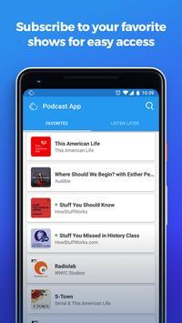 The Podcast App screenshot 2