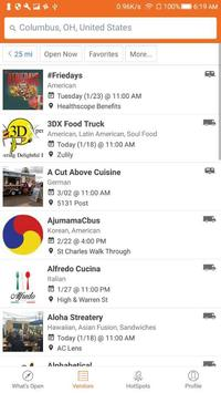 StreetFoodFinder screenshot 2