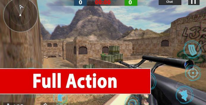 Counter Terrorist Critical: Strike War screenshot 7