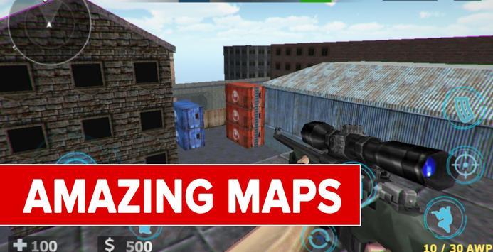 Counter Terrorist Critical: Strike War screenshot 8