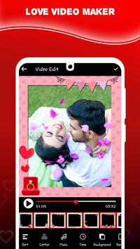 Love Video Maker With Song screenshot 1