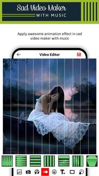 Sad Video Maker With Music screenshot 3