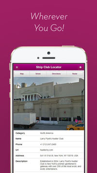 Strip Club Locator screenshot 1