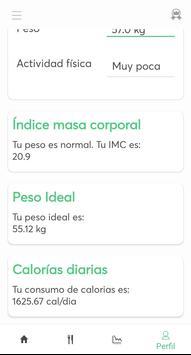 Dietas para adelgazar captura de pantalla 5